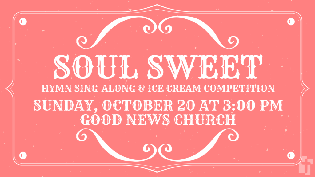 Soul Sweet: October 20 at 3:00 PM