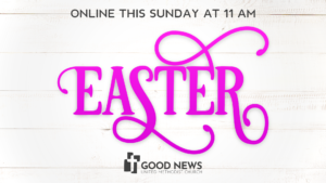 Easter: April 12 at 11 AM