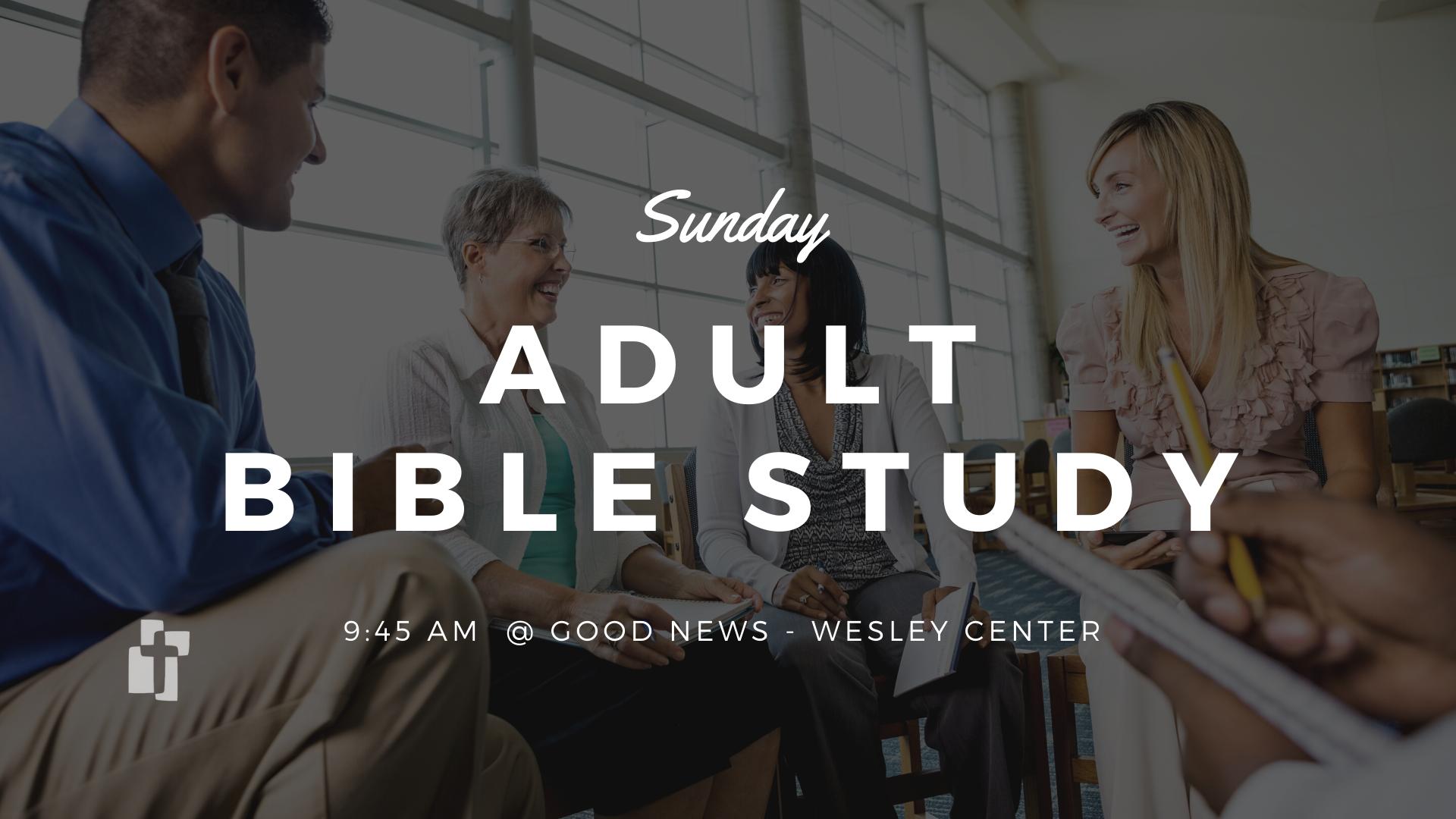 Sunday Adult Bible