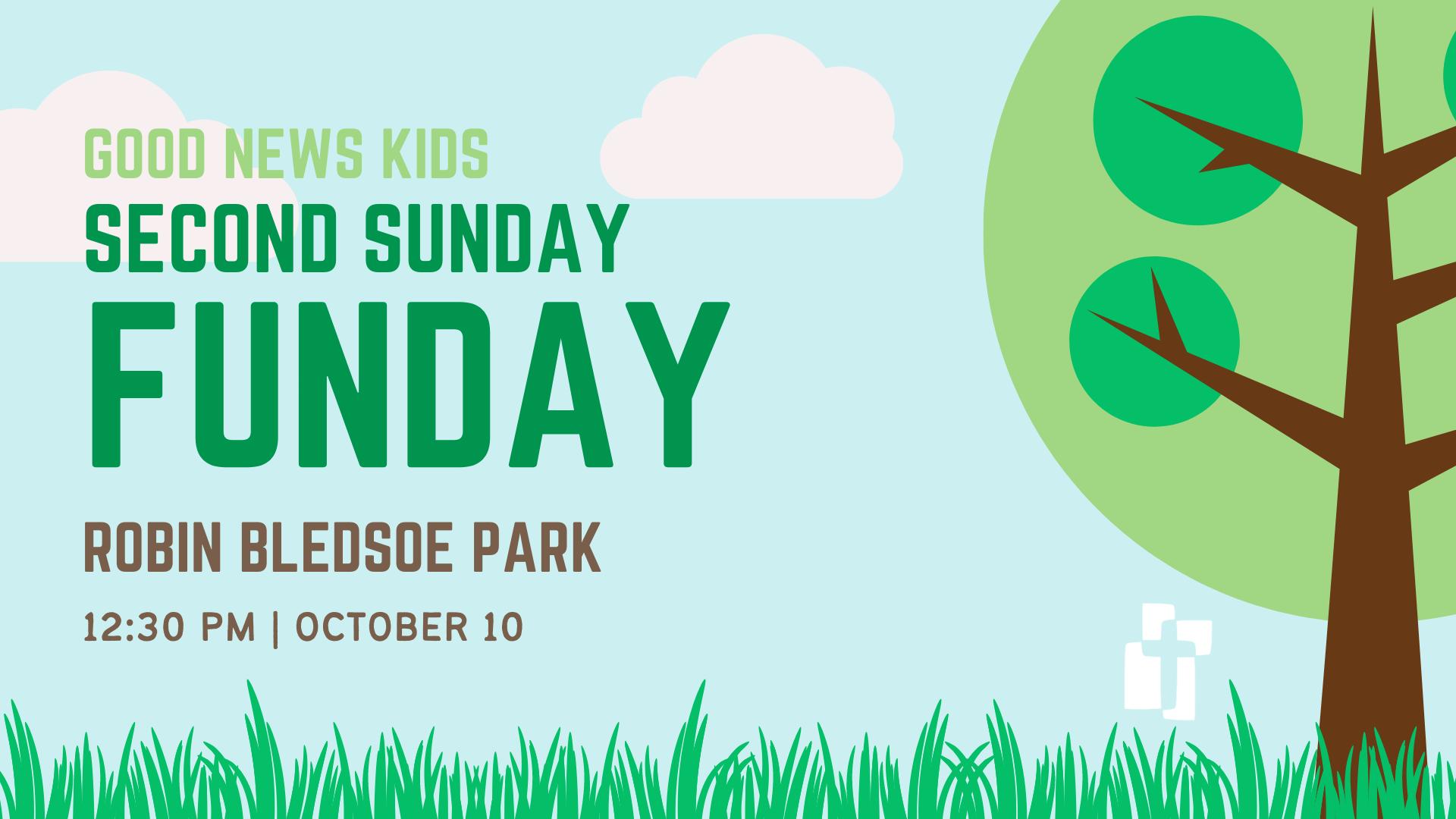 Good News Kids Second Sunday Funday